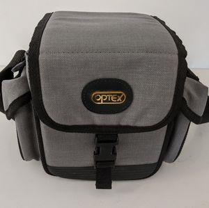 Optex Grey Padded Velcro Camera Case Bag Straps
